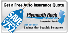Auto Insurance Quote from Plymouth Rock